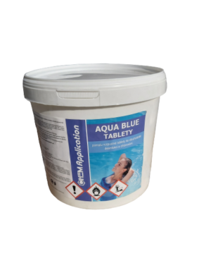 Aqua Blue Pomalu rozpustné tablety na úpravu bazénové vody 3 kg(AB-0002)