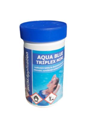 Aqua Blue triplex Mini Multifunkční  minitablety pro úpravu bazénové vody 1 kg(AB-0007)