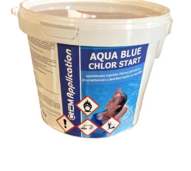 Aqua Blue Chlor Start - přípravek k rychlému zachlorování 3 kg(AB-0029)