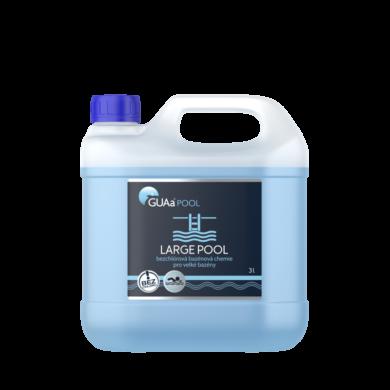 GUAa POOL LARGE POOL Bezchlórová bazénová chemie 3l(CGU-0004)