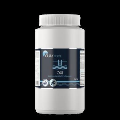 GUAa POOL OXI bezchlórový oxidační přípravek 3,2 kg(CGU-0011)