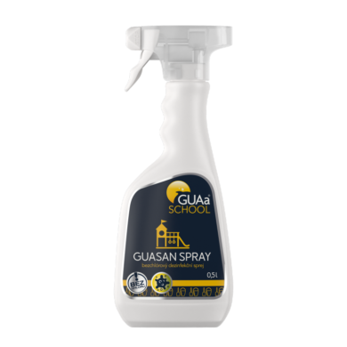 GUAa School GUASAN bezchlor.desinfekční spray 0,5l(CGU-0021)