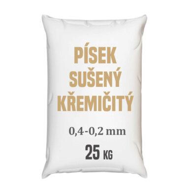 Distripark Písek sušený křemičitý - frakce 0,4 - 0,2 mm - 25 kg(CPI-0004)