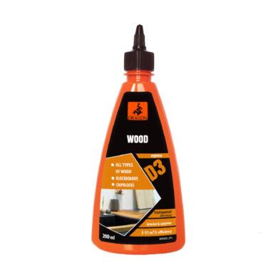 DRAGON Wood adhesive D3 200 ml lepidlo na dřevo(DKDD3200_2_INT1G)