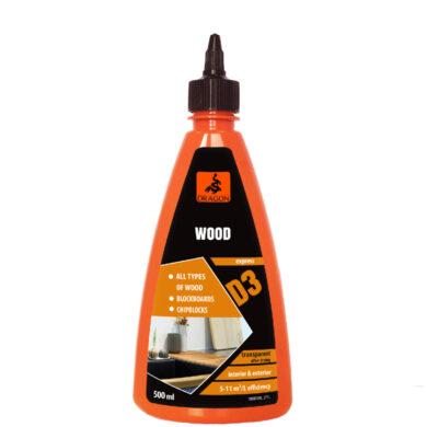 DRAGON Wood adhesive D3 500 ml lepidlo na dřevo(DKDD3500_2_INT1G)