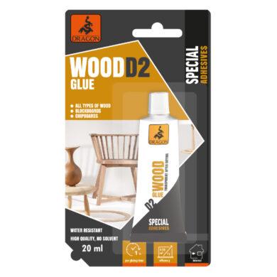 DRAGON Wood glue D2 20ml lepidlo na dřevo(DKDR020_BL_INT1)