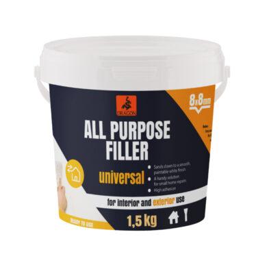 DRAGON All purpose elastic filler 1,5kg (8mm) akrylový tmel(DMSUE01_EN)