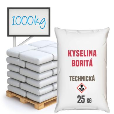 Kyselina boritá technická, 1000 kg(KB-0002)
