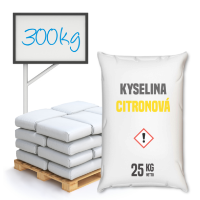 Distripark Kyselina citronová 25 kg(KOS-00002)