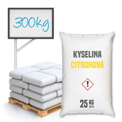 Distripark Kyselina citronová 300 kg(KOS-00002)