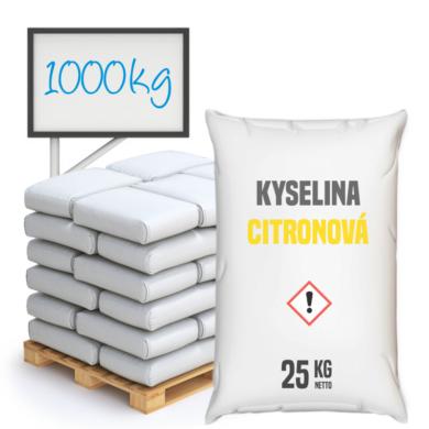 Kyselina citronová 1000 kg(KOS-00003)