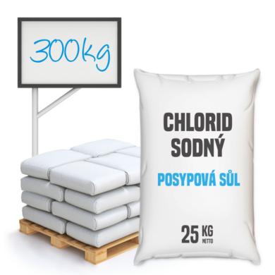 Posypová sůl - chlorid sodný, distripark 300 kg(KOS-00011)