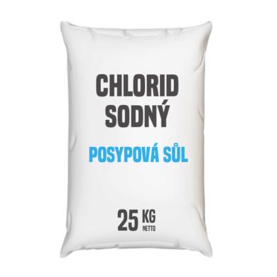 Posypová sůl - chlorid sodný, distripark 25 kg(KOS-00012)