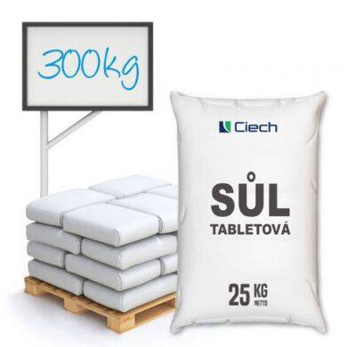 Tabletová sůl, chlorid sodný, 300 kg(KOS-00023)