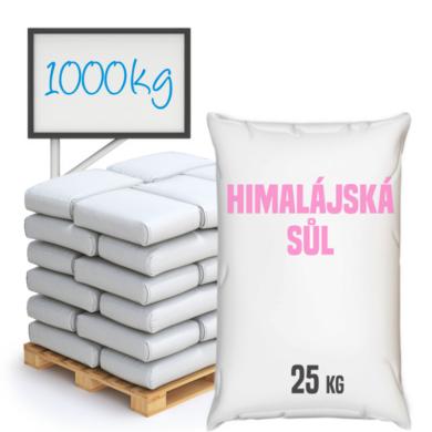 Sůl himalájská, růžová, jemnozrnná 1 000 kg(SH-0005)