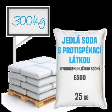 Distripark Jedlá soda s protispékací látkou, E500 (ii) 300 kg(SO-0002)