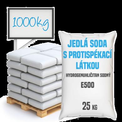Jedlá soda s protispékací látkou, E500 (ii) 1000 kg(SO-0003)