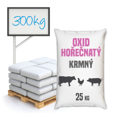 Oxid hořečnatý, krmný 300 kg(TM-0002)