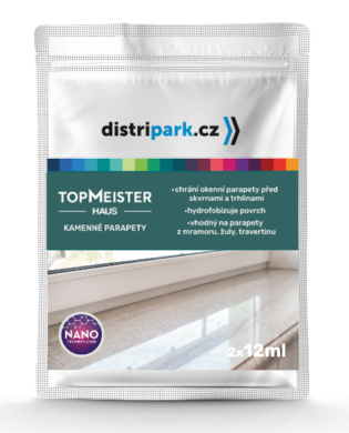 TopMeister Haus - ubrousky k impreg. kamenných parapetů 2 x 12 ml(TMH-0003)