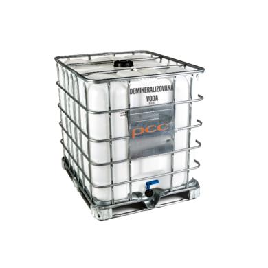 Demineralizovaná voda, deionizovaná, IBC 1000 l(WD-00002)