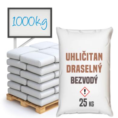Uhličitan draselný bezvodý 1000 kg(WPO-0003)