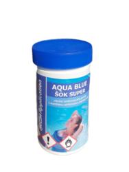 Aqua Blue ŠOK Super prostředek k rychlému zachlorování bazénové vody 1 kg-Aqua Blue ŠOK Super je nestabilizovaný přípravek na rychlé zachlorování bazénové vody a tím i likvidaci bakterií a řas.