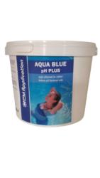 Aqua Blue pH Plus prostředek ke zvýšení pH bazénové vody 3 kg-Aqua Blue pH plus je rychlorozpustný granulovaný přípravek na zvýšení pH bazénové vody. pH plus se vyznačuje jednoduchým dávkováním a okamžitou účinností.