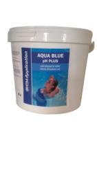 Aqua Blue pH Plus prostředek ke zvýšení pH bazénové vody 5 kg-Aqua Blue pH plus je rychlorozpustný granulovaný přípravek na zvýšení pH bazénové vody. pH plus se vyznačuje jednoduchým dávkováním a okamžitou účinností.