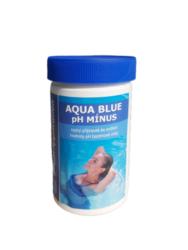 Aqua Blue pH Mínus - pro snížení pH bazénové vody 1,5 kg-Aqua Blue pH Mínus je rychlorozpustný granulovaný přípravek pro snižování hodnoty pH bazénové vody. pH mínus se vyznačuje jednoduchým dávkováním a okamžitou účinností.