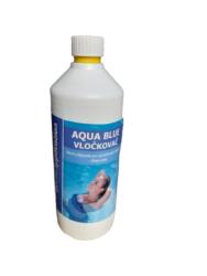 Aqua Blue vločkovač tekutý prostředek k vyvločkování nečistot bazénové vody 1 l-Aqua Blue vločkovač vyvločkuje jemné částečky nečistot tvořící neodfiltrovanou suspenzi - zákal vody. Umožní dokonalé vysrážení těchto nečistot do větších vloček a jejich následné odfiltrování nebo sedimentaci a dodá vodě žádanou jiskru jako u pramenité vody. Reaguje velmi rychle, nezávisle na teplotě vody. Zlepšuje účinnost filtrace, pomáhá prodlužovat životnost pískové náplně.