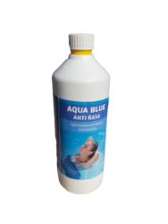 Aqua Blue Antiřasa - přípravek proti tvorbě a růstu řas 1 l-Aqua Blue Antiřasa ničí všechny druhy řas vyskytujicích se v bazénech. Je velmi účinný na výskyt zelených řas v bazénu. Má výrazné bakteristatické a baktericidní účinky proti širokému spektru mikroorganismů. Přípravek také účinně omezuje výskyt šlemu ve filtračních zařízení a zvyšuje jeho účinnost. Díky svému složení má dlouhodobé účinky a v bazénové vodě se odbourává pomalu.