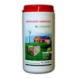 BioClean BIOKOMPOST - ekolog. urychlovač kompostu 1 kg-Urychlovač kompostu BIOKOMPOST zajišťuje zrychlený proces kompostování organického odpadu. Aplikovaný na jednotlivé vrstvy kompostu účinně zrychluje a stimuluje mikroorganismy pro intenzivnější práci. Podporuje tvorbu přírodního humusu, díky němuž získávání úrodného kompostu je mnohem rychlejší a efektivnější. Je také třeba zmínit, že snižuje všechny nepříjemné zápachy, které mohou vzniknout během procesu kompostování.