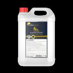 GUAa School GUASAN SANDPIT dezinfekce pískovišť 5l-Jedná se o tekutý dezinfekční prostředek určený k dezinfekci pískoviště bez chlóru. Dezinfekční účinnosti prostředku byly laboratorně doloženy. Prostředek se používá k eliminaci bakteriálního, kvasinkového a virového znečištění. Pro pracovníky je bezpečný a v použitých koncentracích je šetrný k životnímu prostředí.