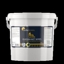 GUAa School GUASAN WET WIPES dezinf. ubrousky 90ks-GUASAN WET WIPES je dezinfekční prostředek k okamžitému použití pro plošnou dezinfekci ploch, předmětů a povrchů. Je charakteristický silným a dlouhotrvajícím antibakteriálním, antivirovým a protiplísňovým účinkem bez negativních vlivů na jakékoli ošetřované materiály.
