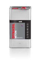Dynasil Beton 5 l impregnace na beton a dlažbu-DYNASIL® BETON 5L je moderní hydrofobní impregnace na bázi chemicky aktivních látek, určená k impregnaci betonu a prefabrikovaných stavebních prvků, výrobků na bázi cementu vystavených nepříznivým atmosférickým podmínkám. Díky schopnosti vytvářet silné chemické vazby,  se impregnace dostane do struktury materiálu a dodá mu hydrofobní vlastnosti a zpevní povrch. Radikální snížení savosti prodlužuje životnost betonu brzdí procesy zvětrávání a chrání před pronikáním škodlivých látek rozpuštěných ve vodě, sloučeninami, nečistotami a korozí materiálu. Dostupné balení: 1l láhev 5l kanystr