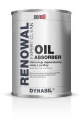 Dynasil Oil Absorber 0,25 l odstraňovač mastných skvrn-DYNASIL® OIL ABSORBER 1l je speciální produkt ve formě polotekuté pasty. Absorbuje a odstraňuje hluboké, intenzivní skvrny od různých druhů ropných látek, olejů, tuků a maziva. Úplně odstraňuje skvrny od vosku, stopy po pneumatikách, skvrny od asfaltu a barev. Po nanesení na skvrnu funguje OIL ABSORBER automaticky, rozpouští se nečistoty, které jsou absorbovány mikro absorbérem obsaženým ve výrobku. Poté, co je pasta suchá stačí ji odstranit z povrchu materiálu společně s absorbovanou nečistotou. Dostupné balení: 0,25l plechovka 1l plechovka