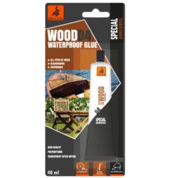 DRAGON Wood WATERPROOF glue D4 40ml vodotěsné na dřevo-Vodotěsné, chemicky odolné, jednosložkové lepidlo. Vhodné pro vnitřní a venkovní použití, třída odolnosti proti vodě: D4, odolnost spár proti teplotě: -40 ° C až + 80 ° C, vysoce kvalitní, polyuretan. Po zaschnutí, nažloutlé.
