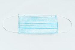 Ústenka (rouška) s gumičkou General public 3-vrstvá modrá 50 ks(GEN50)