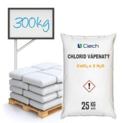 Distripark Chlorid vápenatý, dihydrát 300 kg-Chlorid vápenatý 300 kg - Zabraňuje hromadění prachu na nezpevněných vozovkách, sportovních hřištích, tenisových kurtech a štěrkových drahách. Navíc je používán jako prostředek pro vysoušení plynů a kapalin v chemických syntézách.  Přípravek pro chemické odstraňování sněhu, odstraňování ledu ze silnic, chodníků a schodů v zimním období. Běžně zvaný jako ekologická silniční sůl s ohledem na nízkou ekologickou zátěž ve srovnání s kuchyňskou solí používanou jako silniční sůl.  Chlorid vápenatý je dostupný v balení: 25 kg 300 kg 1000 kg