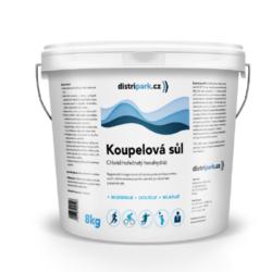 Koupelová magneziová sůl 8 kg distripark-Regenerační magneziová sůl do koupele zmírňuje únavu svalů a tímto navozuje pocit uvolnění po náročném pracovním a stresujícím dni. Obsahuje 47% chlorid hořečnatý.   regeneruje po náročném tréninku nebo stresu v práci uvolňuje svaly a mysl zrelaxuje celé tělo