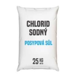 Posypová sůl - chlorid sodný, distripark 25 kg-Posypová sůl - chlorid sodný 25 kg Používání kamenné soli je nejrozšířenější způsob údržby komunikací, chodníků a náměstí v zimním období. Sůl je balená v 25kg pytlích. Námi nabízená sůl obsahuje protihrudkující látku.  Posypová sůl - chlorid sodný je dostupný v baleních: 5 kg 10 kg 25 kg 300 kg 1000 kg
