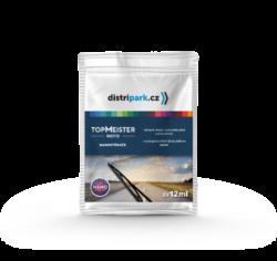 TopMeister Moto nanostěrače - ubrousky k čišt. autoskla 2x12ml-Ubrousky na autosklo Nanostěrače TopMeister Moto 2 x 12 ml - sada dvou ubrousku pro ochranu automobilových skel před nečistotami, ledem a mrazem. Vytváří na skle automobilu dlouhodobý nanopovlak, který zvyšuje pohodlí při jízdě v dešti bez nutnosti použití stěračů.